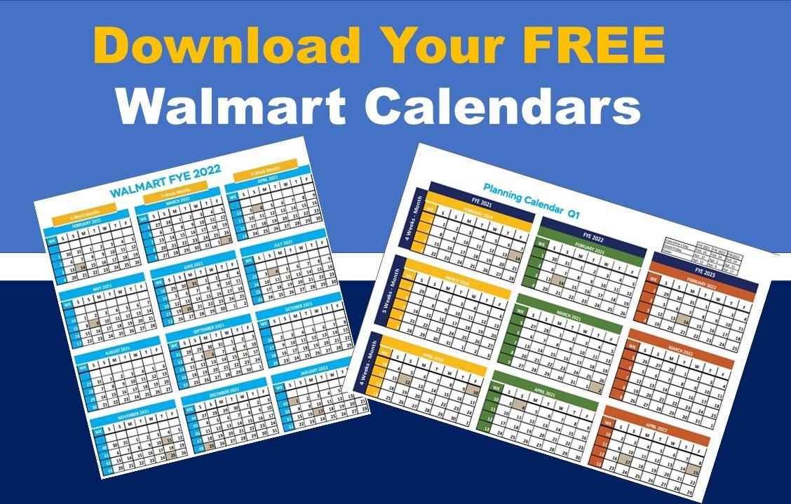 Walmart Fiscal Year Calendar How Walmart Weeks Work
